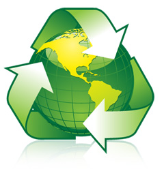 The Faster Hauling's committment to recycling and environmental awareness